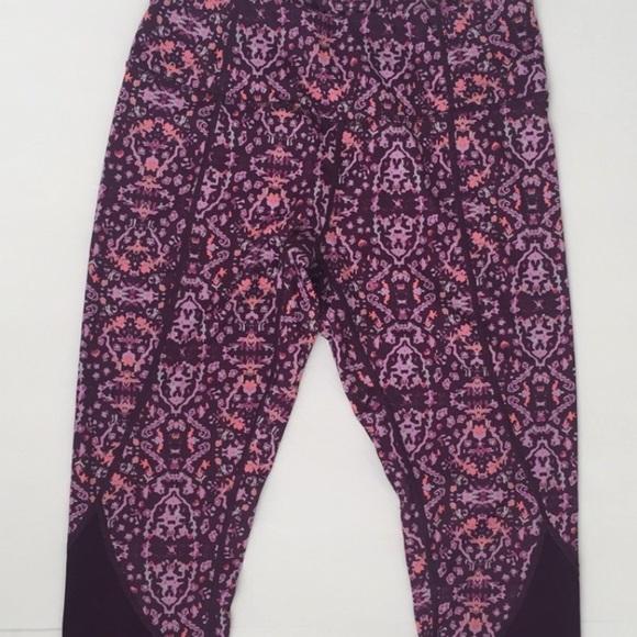47a338b4d4 Apana Pants   Purple Roxanne Yoga Capri   Poshmark